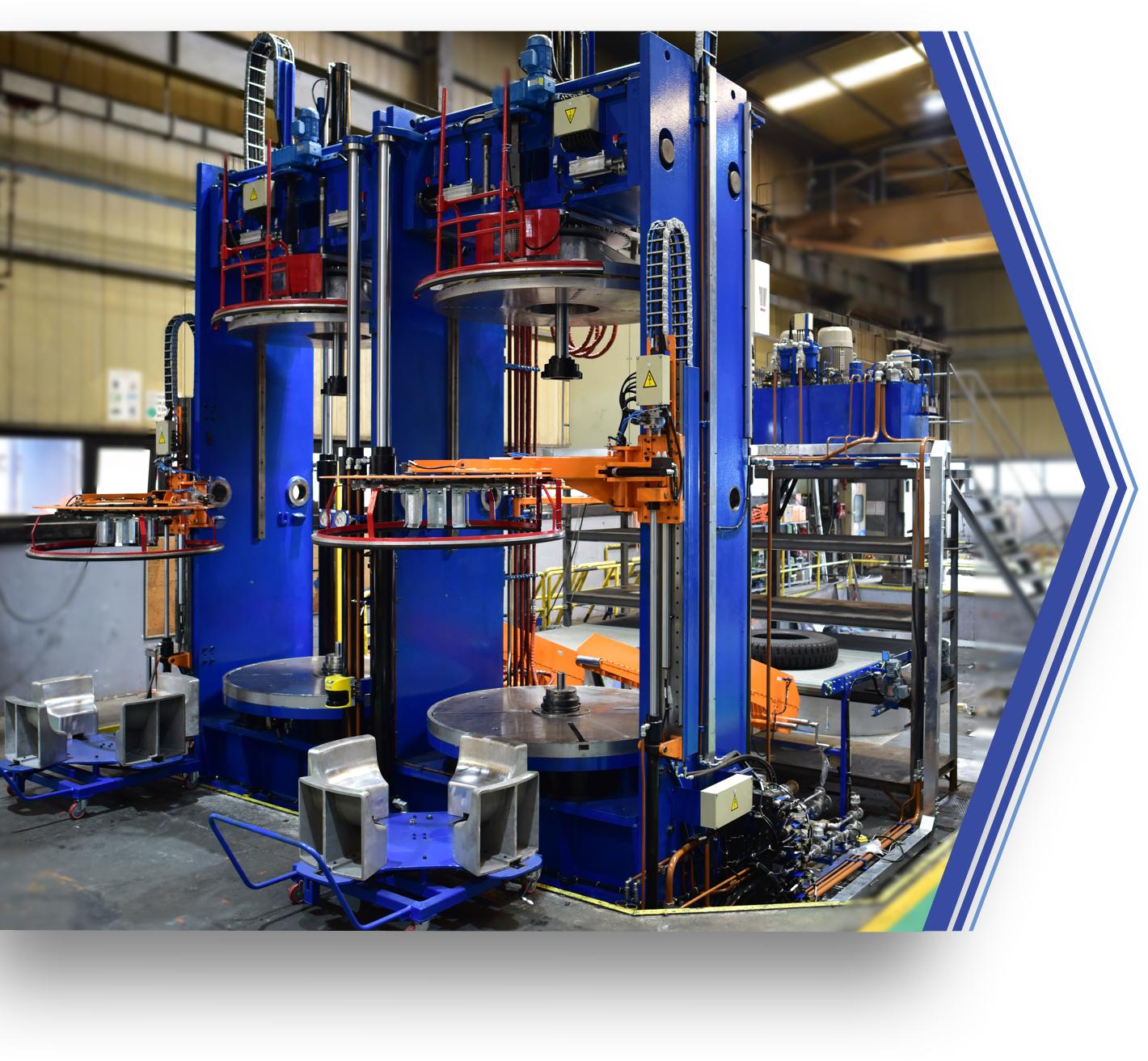 Uzer Makina | Tire Curing Presses
