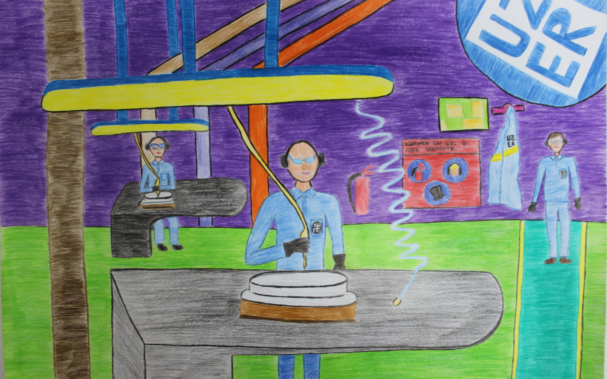 Painting Contest among Uzer Makina Children