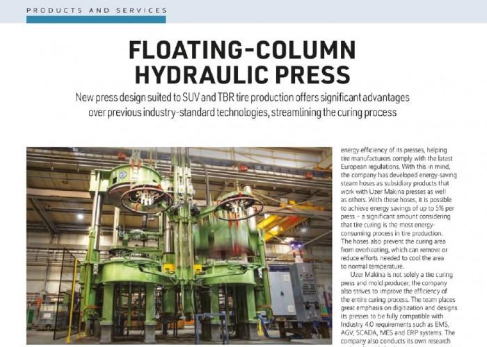 Floating Column Hydraulic Press
