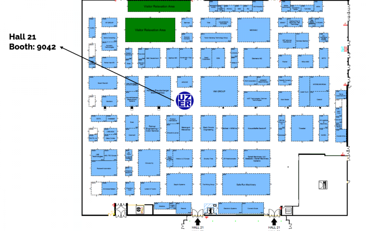 TTE 2019 Floorplan