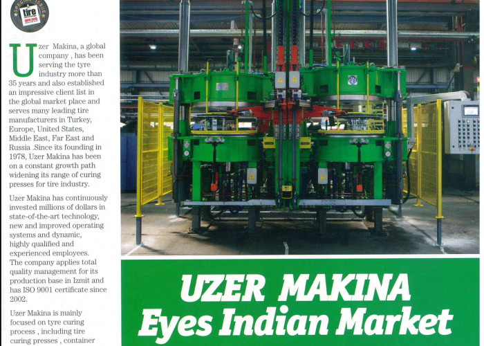 Uzer Makina Eyes Indian Market