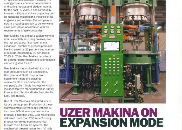Uzer Makina on Expansion Mode